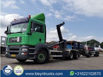 Hook lift truck MAN 35.350 TGA 6x2 431tkm analog