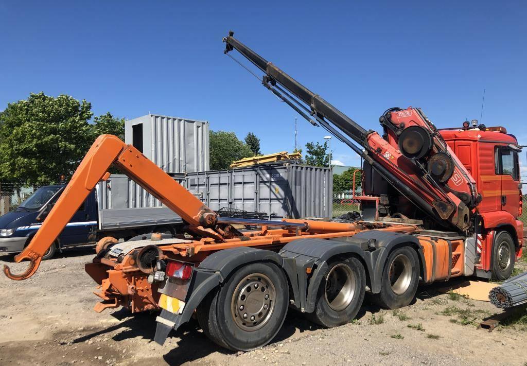 hook lift truck MAN 35.430
