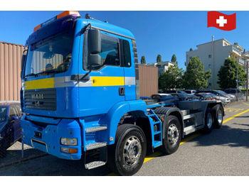 Hook lift truck MAN 35.430 8x4