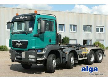 Hook lift truck MAN 35.440 TGS BB/8x4/HIAB XR26Z56/Intarder/Klima