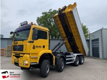 Hook lift truck MAN 41.440 8x8 BB Manual Hooklift
