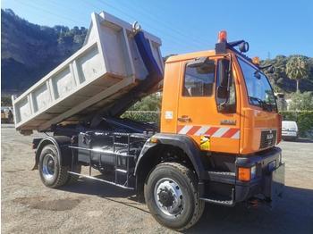 Hook lift truck MAN 4X4 280CV silent 18.264