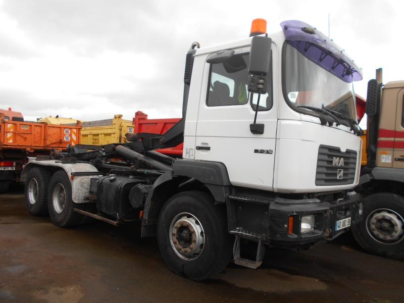 hook lift truck MAN F2000 27.314
