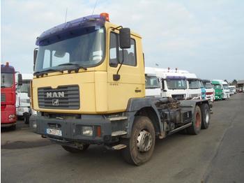 Hook lift truck MAN FE 410 A