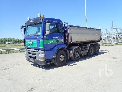 hook lift truck MAN TGA35.430 8x4
