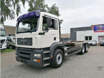 Hook lift truck MAN TGA 26.360 6x4, Hakengerät, ManualGearbox, B/B