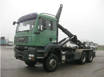 Hook lift truck  MAN - TGA 26.400 6x6 BL VDL 21t