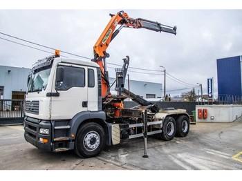 Hook lift truck MAN TGA 26.410 BB - PK 16000