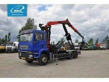Hook lift truck MAN TGA 26.430