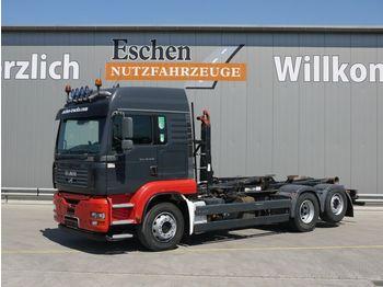 Hook lift truck MAN TGA 26.430 6x2-2 BL, Meiller RK 18065, LX Kabine