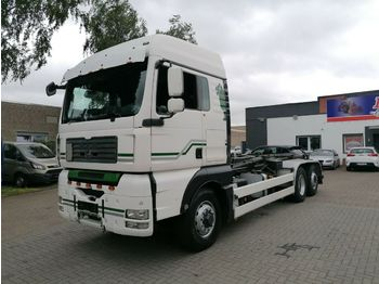 Hook lift truck MAN TGA 26.440 6x4 Hydro, Hakengerät, ManuelGearbox