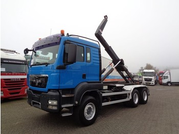 Hook lift truck MAN TGA 26.440 + PTO + Hook system + blad-blad+6x4