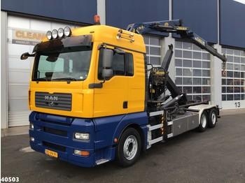 Hook lift truck MAN TGA 26.440 Palfinger 16 ton/meter Z-kraan