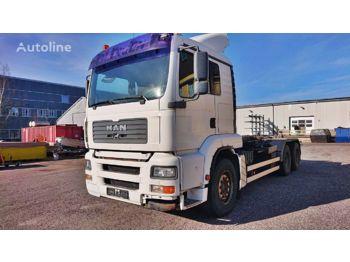 Hook lift truck MAN TGA 26.480 6X2 *Abrollkipper*Palift*Manual
