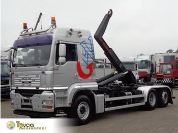 Hook lift truck MAN TGA 26.500 + Manual + Euro 5 + Hook system+euro5