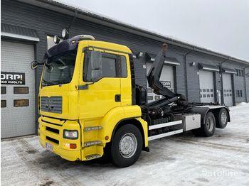 Hook lift truck MAN TGA 26.530