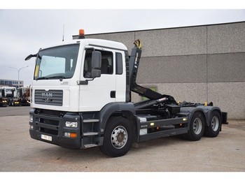Hook lift truck MAN TGA 28.350 6X2 CONTAINER SYSTEEM- CONTAINER SISTEEM- CONTAINER HAAKSYSTEEM- SYSTEME CONTENEUR