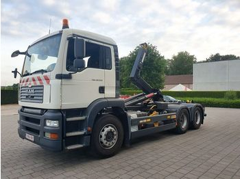 Hook lift truck MAN TGA 28.360 6x2 CONTAINER SYSTEEM- CONTAINER SISTEEM- CONTAINER HAAKSYSTEEM- SYSTEME CONTENEUR