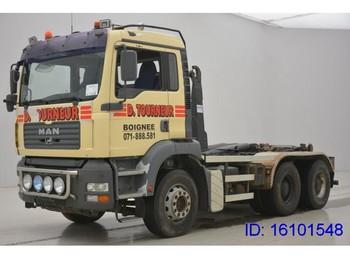 Hook lift truck MAN TGA 33.360 - 6X4