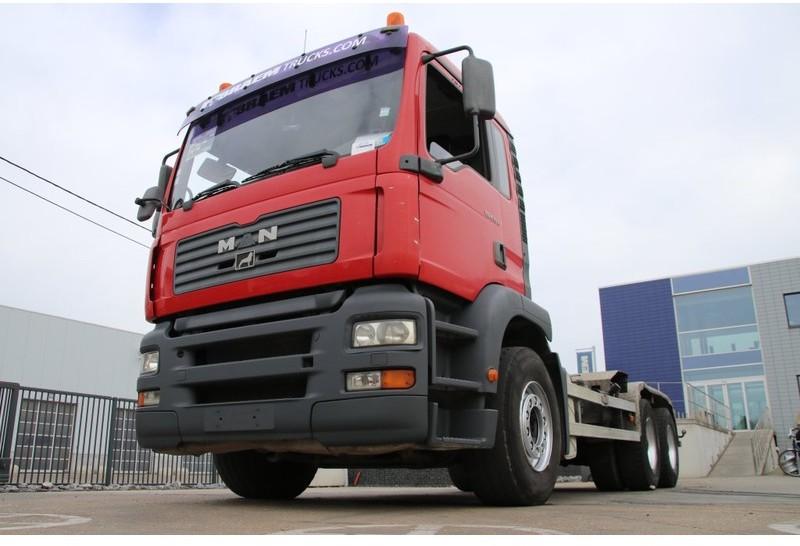hook lift truck MAN TGA 33.410 BB