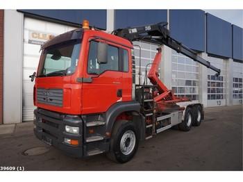 Hook lift truck MAN TGA 33.413 6x4 Hiab 16 ton/meter laadkraan
