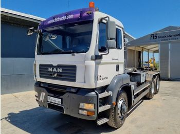 Hook lift truck MAN TGA 33.440 6X6 ABROLL TIPPER - euro 4