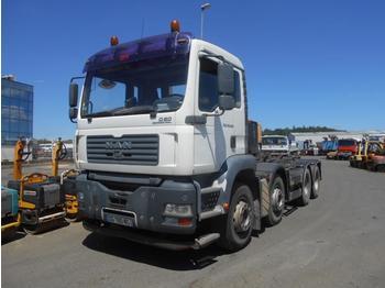 Hook lift truck MAN TGA 35.430