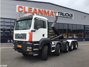 Hook lift truck MAN TGA 35.480 10x4 Hiab 30 ton's haakarmsysteem