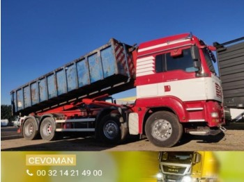 MAN TGA 37.440 8x4 Containerhaaksysteem / container euro4 - hook lift truck