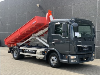 MAN TGL 12.220 Euro 6 - hook lift truck