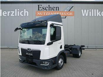 Hook lift truck MAN TGL 12.250 BB CH*Fahrgestell*Klima*Navi*AHK