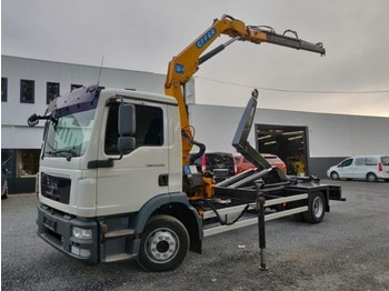 MAN TGM 12.290 Euro5 - hook lift truck