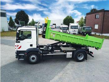 Hook lift truck MAN TGM 18.320 4x2 / Euro 6d HYVA Abroller