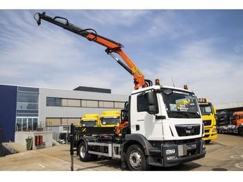 Hook lift truck MAN TGM 19.290 BL -euro 6+ PK13001 + ampliroll neuf (12T)