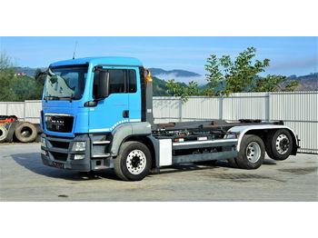 Hook lift truck MAN  TGS 26.360 Abrollkipper 5,50m *6x2* Top Zustand