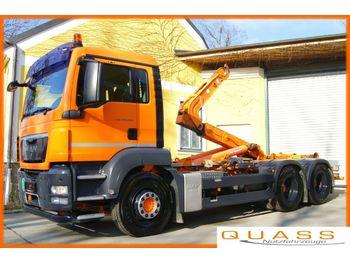 Hook lift truck MAN TGS 26.360 BL 6x4  / UNILIFT TA 20 NL / Knickarm