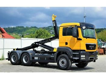 Hook lift truck MAN TGS 26.400