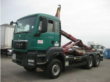 Hook lift truck  MAN - TGS 26.400 6X6 BB Palift T20A