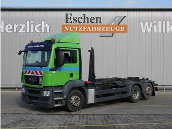 Hook lift truck MAN TGS 26.400 6x2-2 BL, Meiller RK 20.67, Bl/Lu