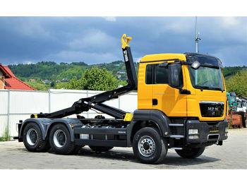 Hook lift truck MAN  TGS 26.400 Abrollkipper 5,50m *6x4* Top Zustand