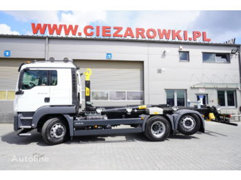Hook lift truck MAN TGS 26.400 , Sleep cab ,NEW , 400km , 6x4x4 , HYDRODRIVE , NEW H