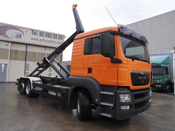 Hook lift truck MAN TGS 26.440