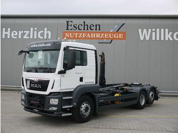 Hook lift truck MAN TGS 26.440 6x2-4 BL,Meiller RS 21.67, Lift/Lenk