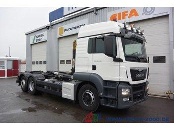 Hook lift truck MAN TGS 26.440 6x4 (H) 1.Hd Scheckheft Deutsches Fzg