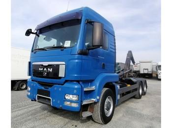 Hook lift truck MAN TGS 26.440 6x6H BL Abrollkipper Euro 5 (34)
