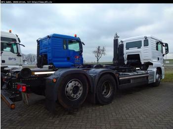 Hook lift truck MAN TGS 26.460 6x2-4 BL Meiller RS 21.70