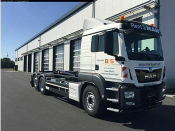 Hook lift truck MAN TGS 26.460 6x2-4 BL Multilift , Hydr. UFS