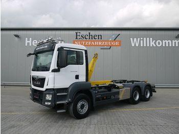 Hook lift truck MAN TGS 26.460 BL 6x4,Palfinger P20A Schub/Knick
