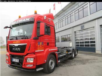 Hook lift truck MAN TGS 26.480 6x2-4 BL EURO 6,TipMatic, TopTorque,N