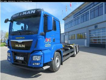 MAN TGS 26.480 6x2-4 BL Euro 6,TIPMatic,Top Torque  - hook lift truck